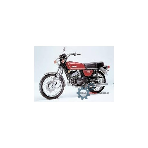 Yamaha DS7 R5C RD250 RD350 Service Manual