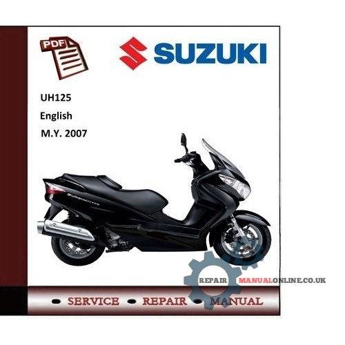 best workshop repair service manual pdf download workshop service rh repairmanualonline co uk 2004 suzuki burgman 400 service manual 2006 burgman 400 service manual