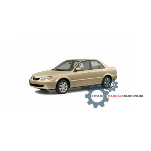 MAZDA PROTEGE 2000-2004 SERVICE REPAIR WORKSHOP MANUAL DOWNLOAD