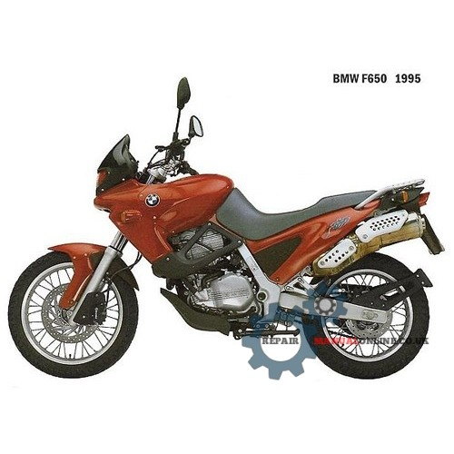BMW F650 1994 1995 1996 1997 1998 1999 2000 Workshop Service Repair Manual